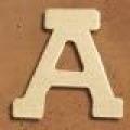 Medinė raidė A