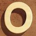 Medinė raidė O