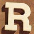 Medinė raidė R