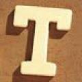Medinė raidė T