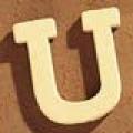 Medinė raidė U