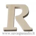 """Medinė raidė """"R"""""""