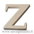 """Medinė raidė """"Z"""""""